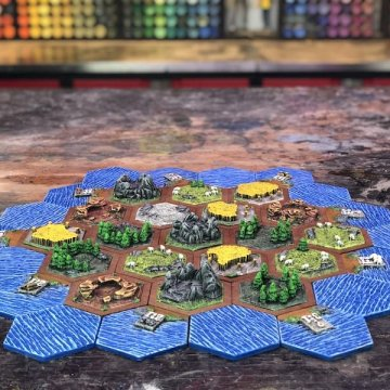4 player w water Hex